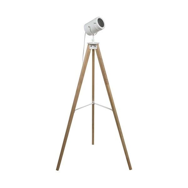 Stojaca lampa z dubového dreva Santiago Pons Helga
