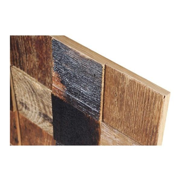 Nástěnná dekorace Wooden Natural, 60x60 cm