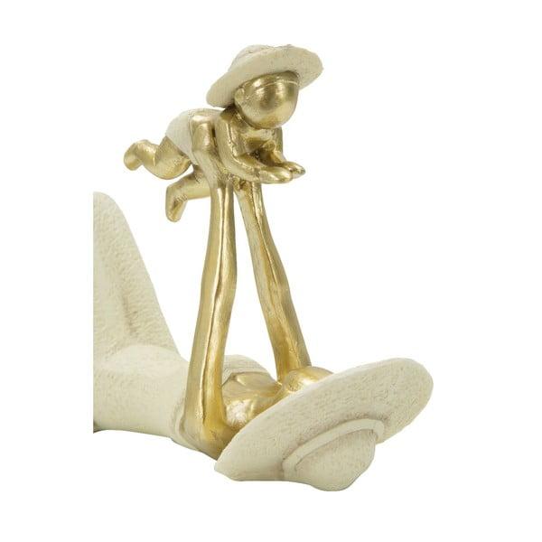 Dekorativní soška s detaily ve zlaté barvě Mauro Ferretti Baby