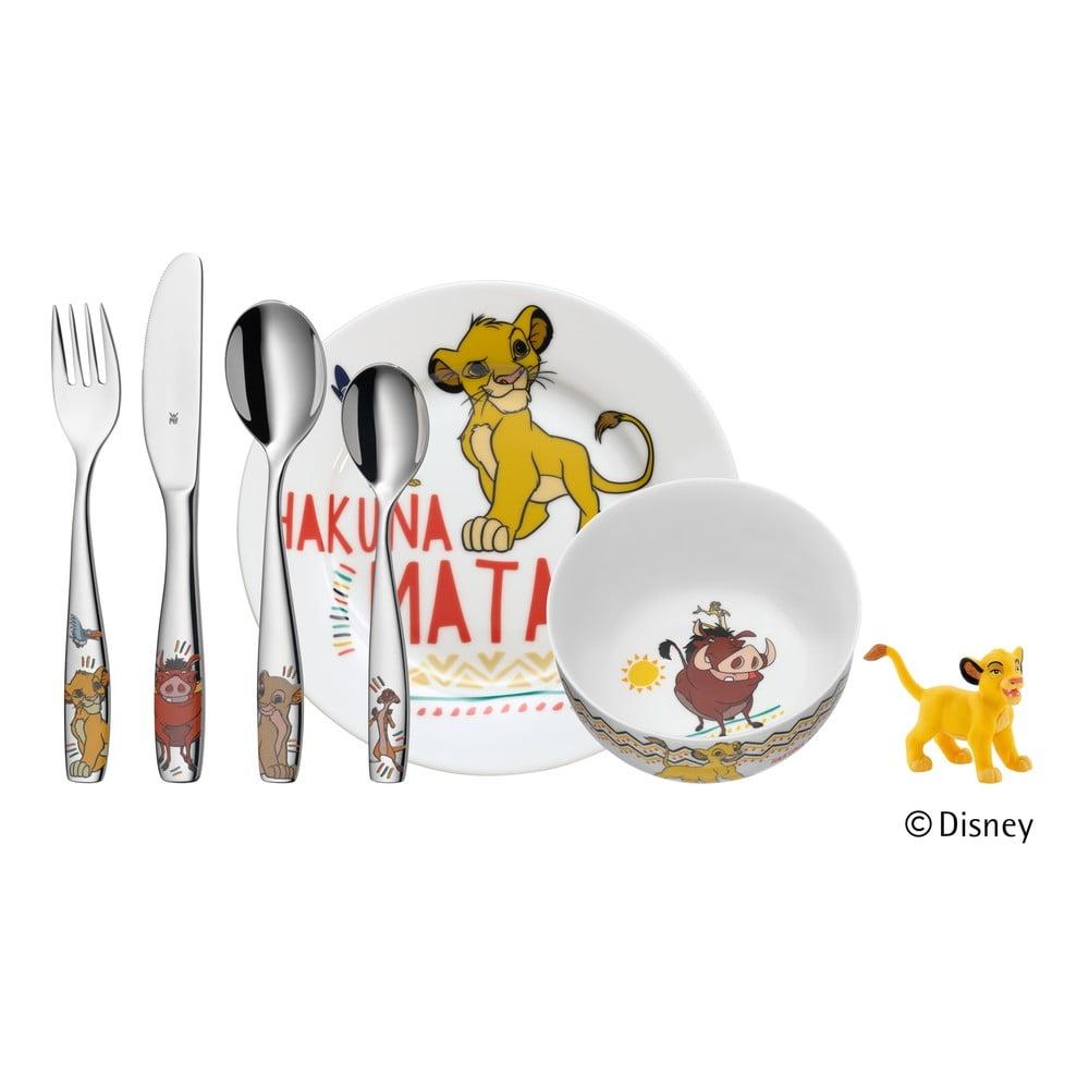 6dílný dětský jídelní set WMF Cromargan® Lví král