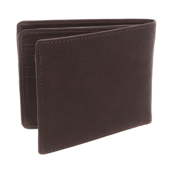 Kožená peněženka Merrick Brown