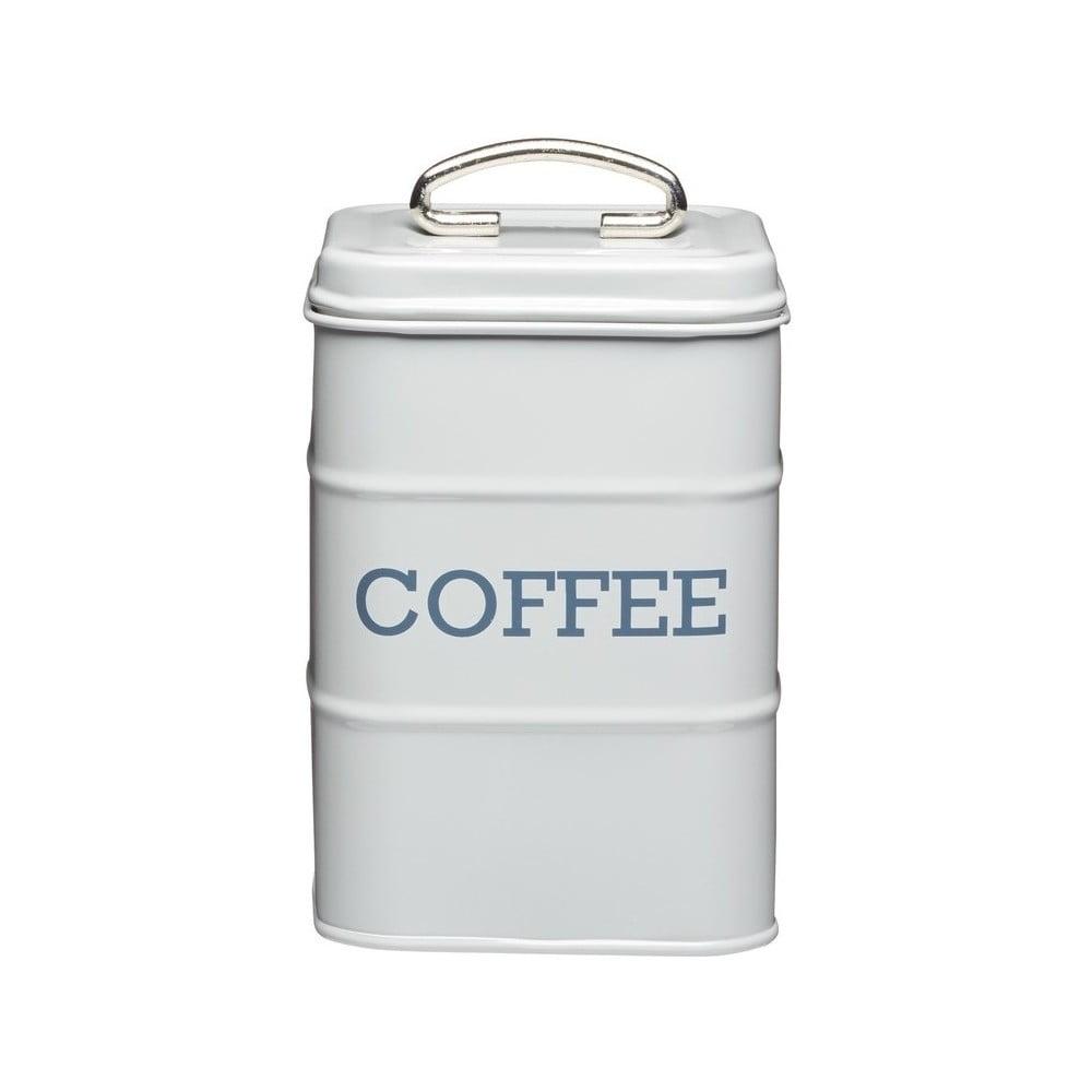 Šedá plechová dóza na kávu Kitchen Craft Nostalgia