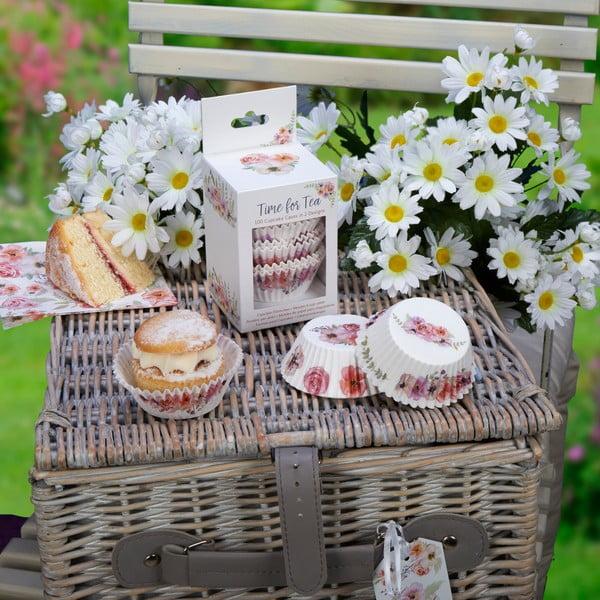 Sada 100 košíčků na muffiny Neviti Time for Tea
