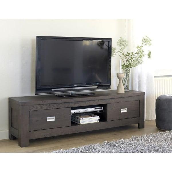 Televizní stolek Ambassador Espresso, 160x46x43 cm