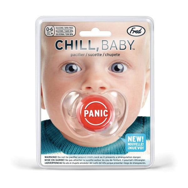 Dětský dudlík Fred & Friends Chill Baby Panic button