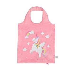 Růžová nákupní taška Sass & Belle