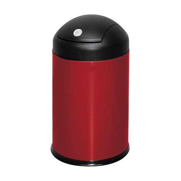 Odpadkový koš Swing, červený