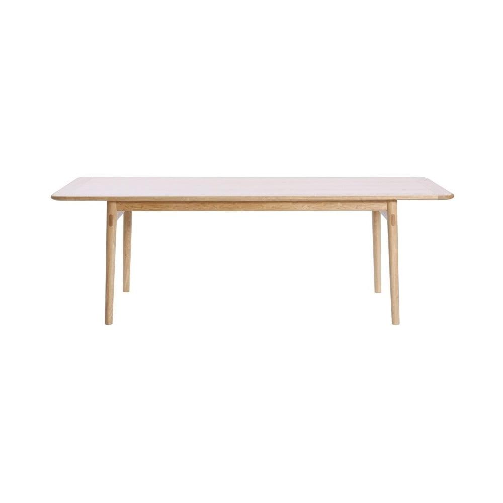 Jídelní stůl z dubového dřeva Wermo Havvej, 225x92cm