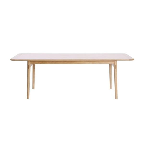 Havvej tölgyfa étkezőasztal, 225 x 92 cm - We47