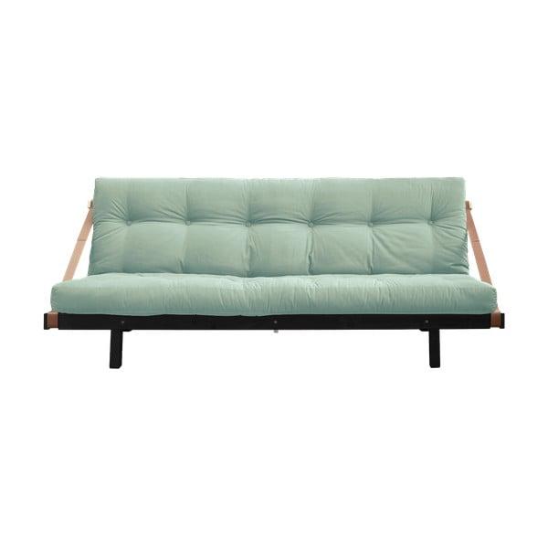 Canapea extensibilă Karup Design Jump Black/Mint