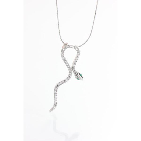 Snake ezüstszínű nyaklánc - Laura Bruni