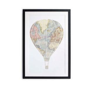 Obraz Little Nice Things Hot Air Balloon, 40x60cm