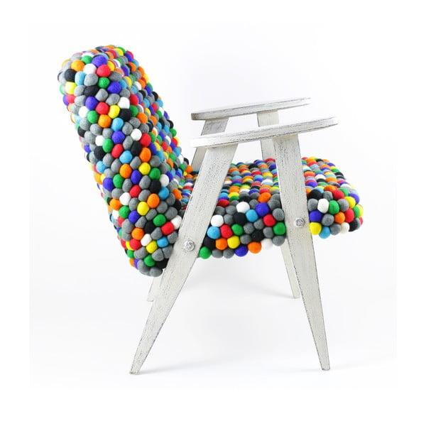 Ručně vyrobené kuličkové křeslo Pills
