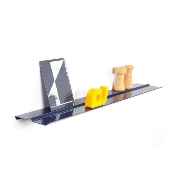 Nástěnná police Tab Shelf by Phil Procter, tmavě modrá