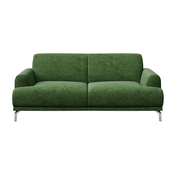Puzo zöld kétszemélyes kanapé - MESONICA