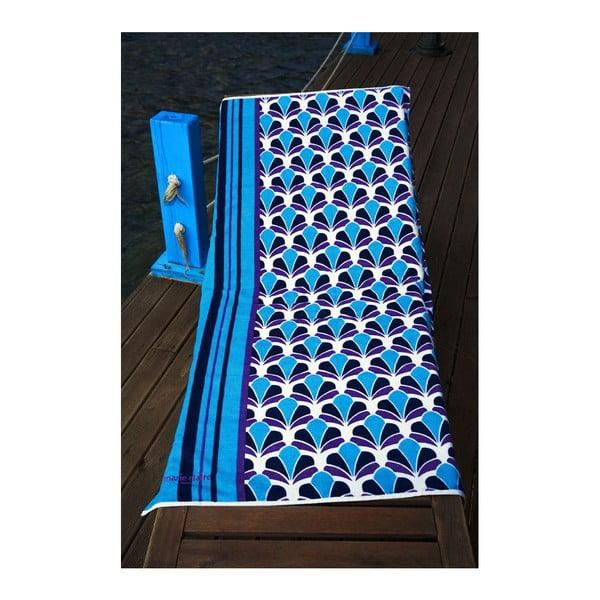 Osuška Blue Shell, 75x150 cm