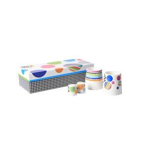Snídaňový set z kostního porcelánu Silly Design Illusion