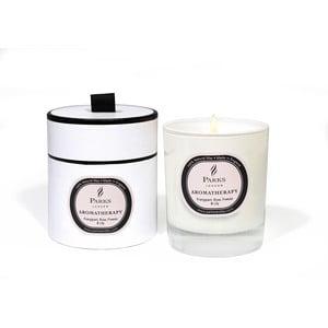 Lumânare parfumată Parks Candles London Aromatherapy, aromă de trandafiri, frezie, crin, 50 ore