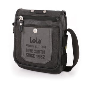 Taška přes rameno Lois Black, 16x20 cm