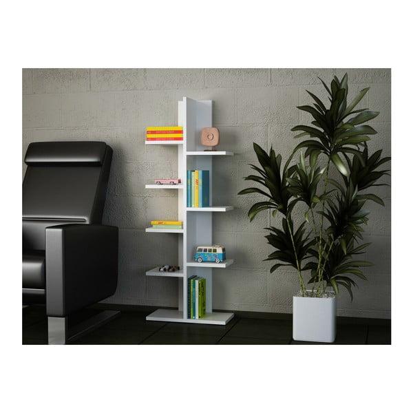 Bibliotecă Tree, alb