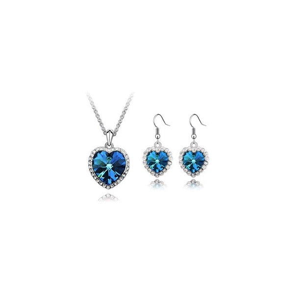 Sada náhrdelníku a náušnice Iris