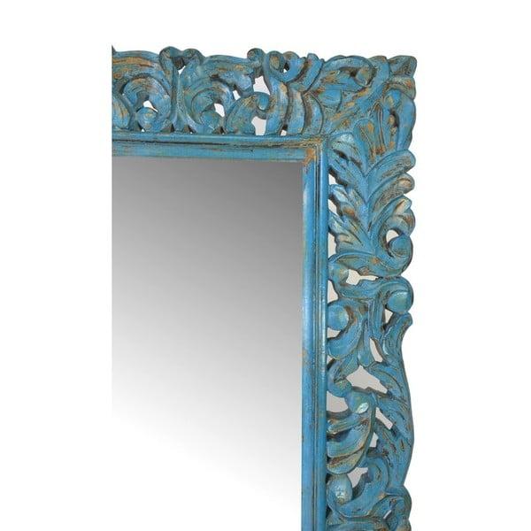 Zrcadlo Orient 60x120 cm, tmavě modré