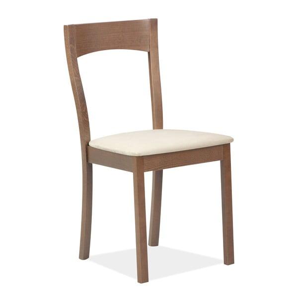 Jídelní židle Teddy, tmavě dřevo