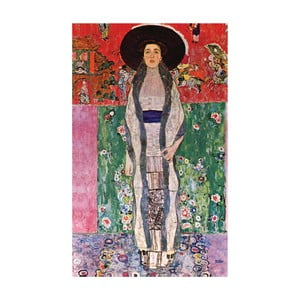 Gustav Klimt - obraz Portrait of Bloch-Blauer, 50x80 cm