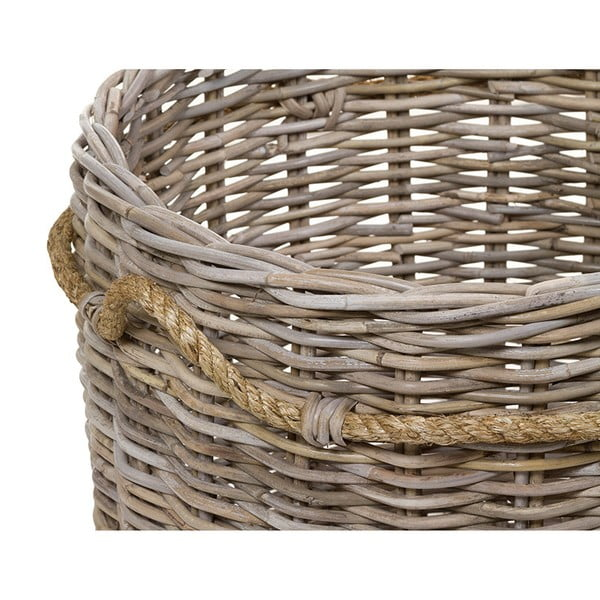 Sada 2 ratanových košů Santiago Pons Basket