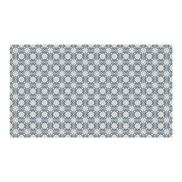 Vinylový koberec Orient Blue, 52x240 cm