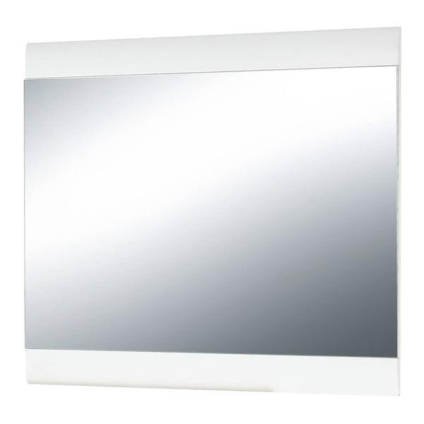 Oglindă de perete Germania Malou, ramă albă, 87 x 76 cm