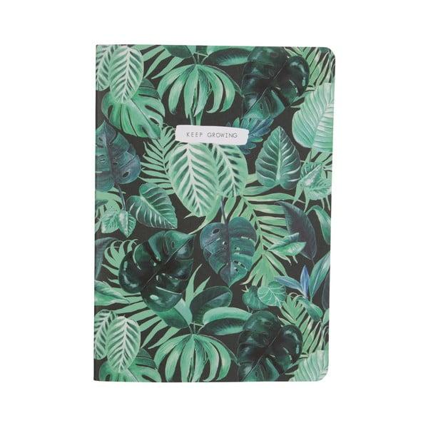 Zápisník Sass & Belle Botanical Jungle