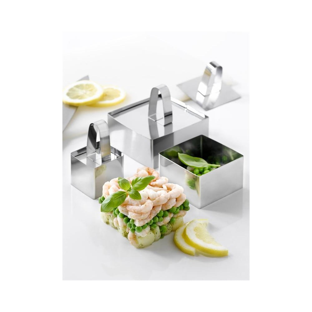 Tvarovače a servírovací misky na salát Steel Function Milano