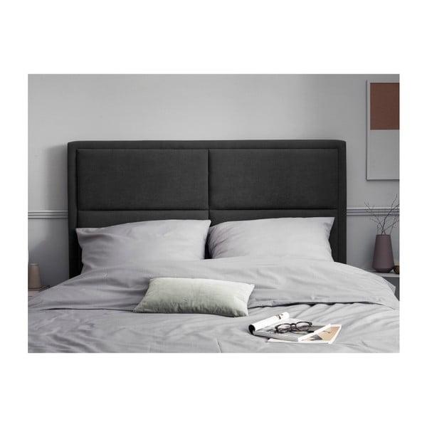Tmavě šedé čelo postele HARPER MAISON Gala, 140 x 120 cm