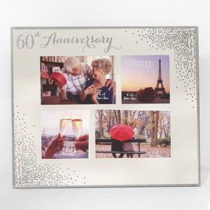 Rámeček k 60. výročí na 4 fotografie Celebrations Anniversary