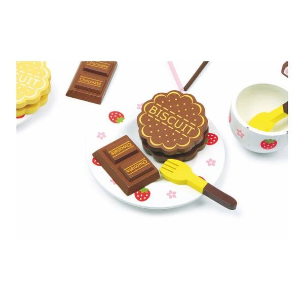 Cutie plină cu dulciuri din lemn Legler Sweeties
