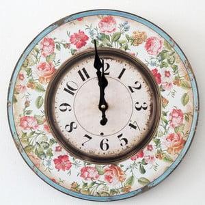 Vintage hodiny Růže