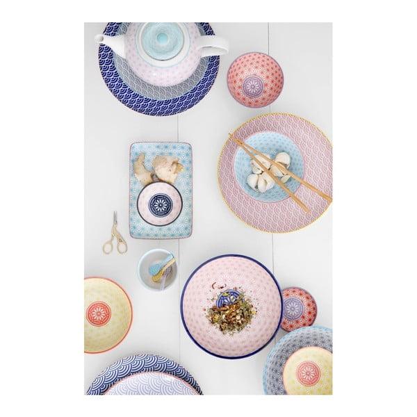 Malý žlutý porcelánový talíř Tokyo Design Studio Star, ⌀16cm