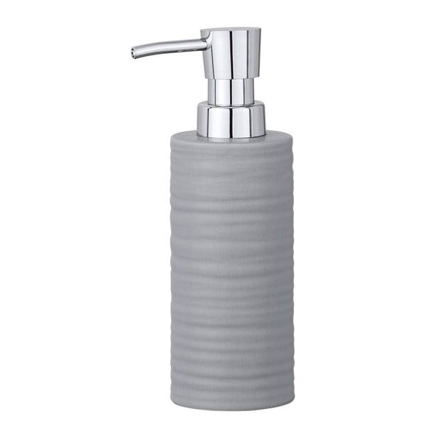 Mila szürke kerámia szappanadagoló - Wenko