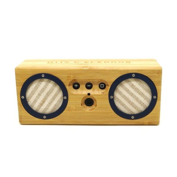 Přenosný bambusový speaker Navy & Stripes Bongo