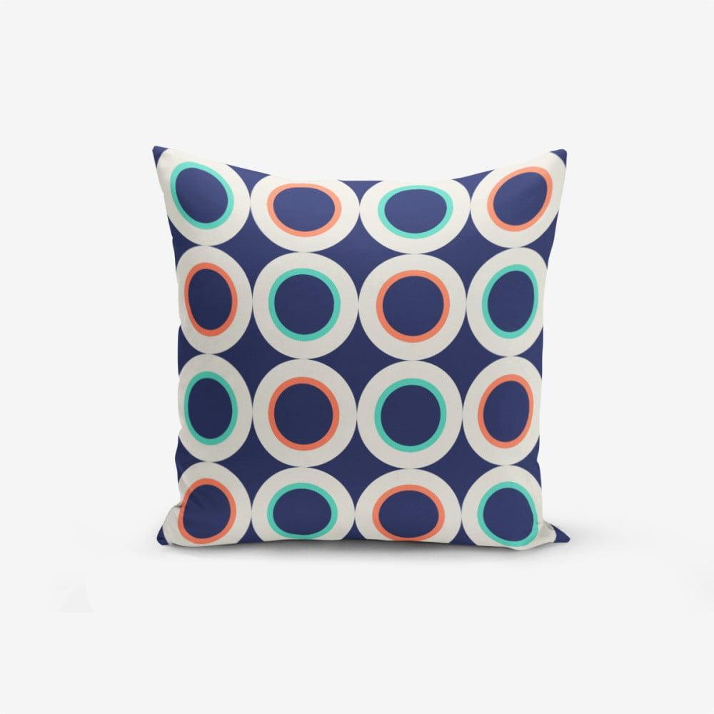 Povlak na polštář s příměsí bavlny Minimalist Cushion Covers Ring Modern Luto, 45 x 45 cm