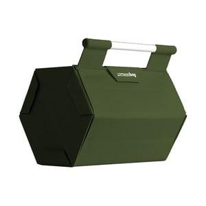 ZEbag pro 6 lahví, tmavě zelený