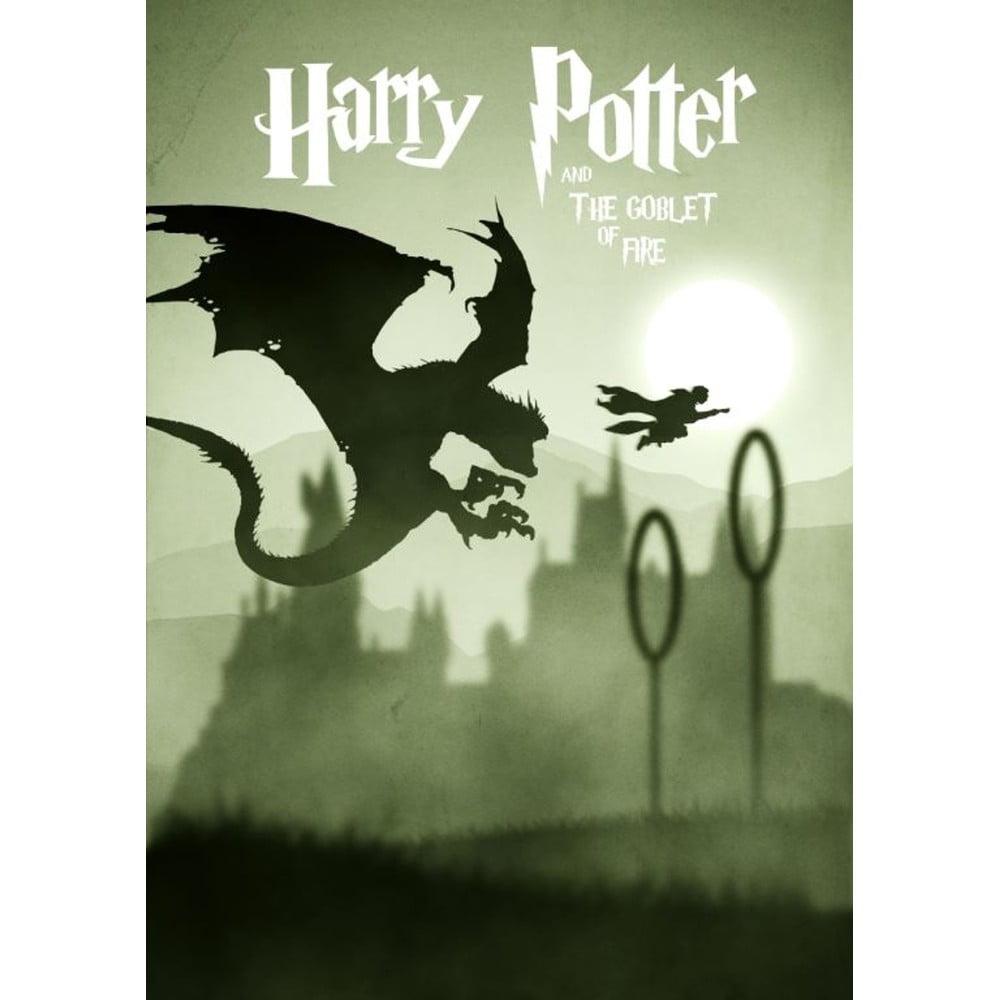 Plakát Blue-Shaker Harry Potter 12, 30 x 40 cm
