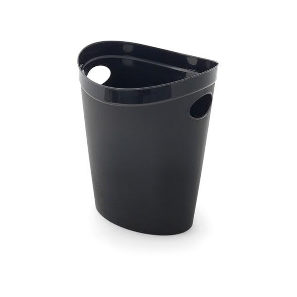 Coș de gunoi pentru hârtie Addis Flexi, 27 x 26 x 34 cm, negru