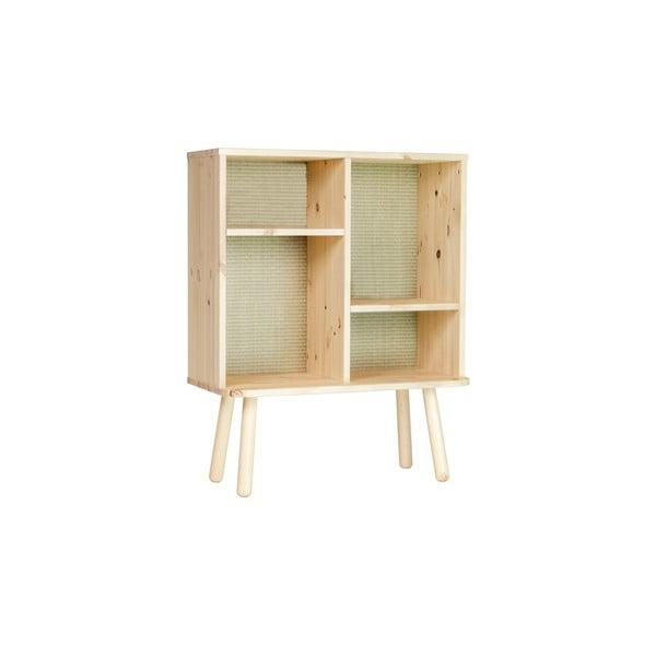 Comodă din lemn de pin Karup Design Kyabi, natural