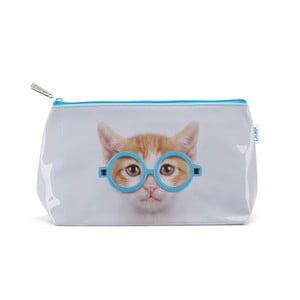 Toaletní taška Glasses Cat