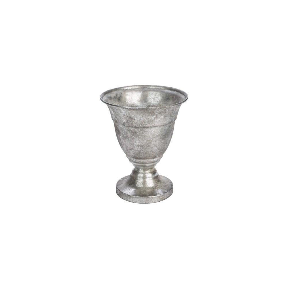 Dekorativní pohár ve stříbrné barvě Ego Dekor, výška6,9 cm