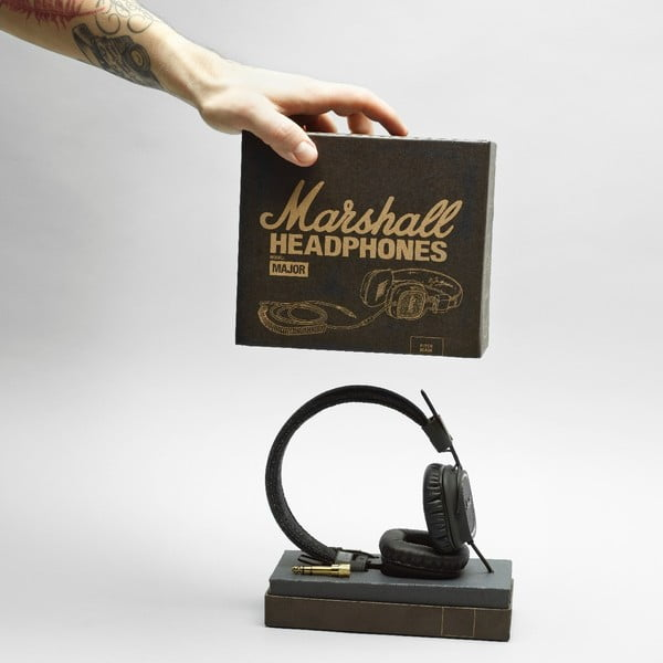 Sluchátka Marshall Major Pitch Black