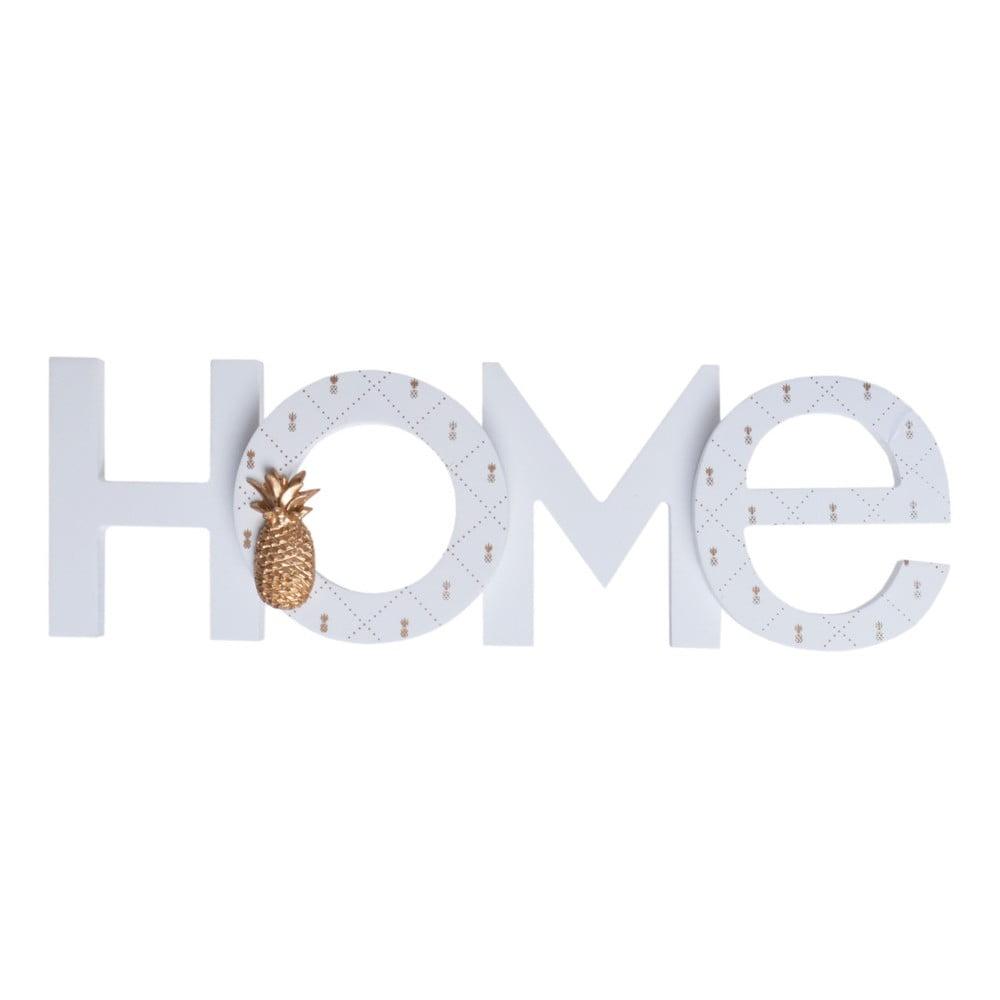 Dřevěný dekorativní nápis Ewax Home Ananas