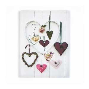 Obraz Graham & Brown Hearts Compendium, 50 x 70 cm